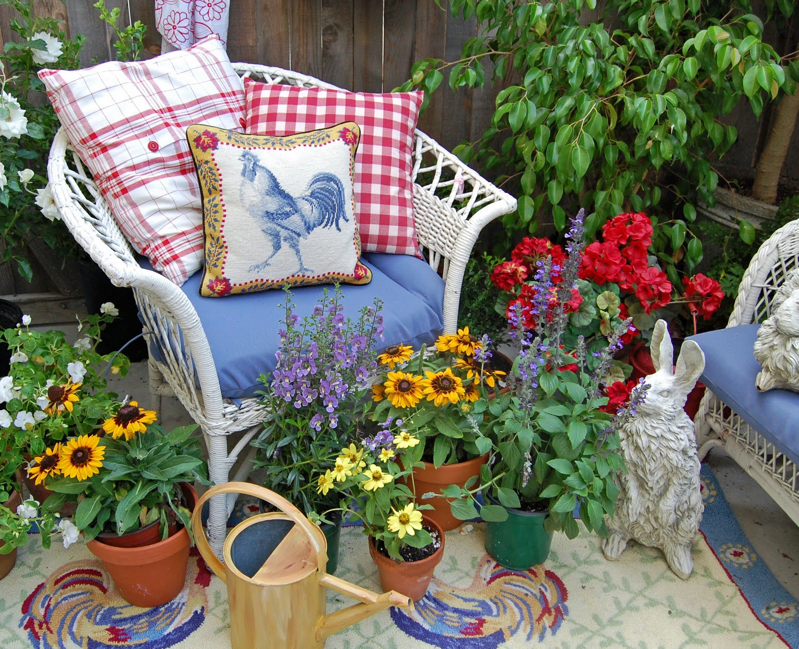 My Painted Garden: Container Gardens