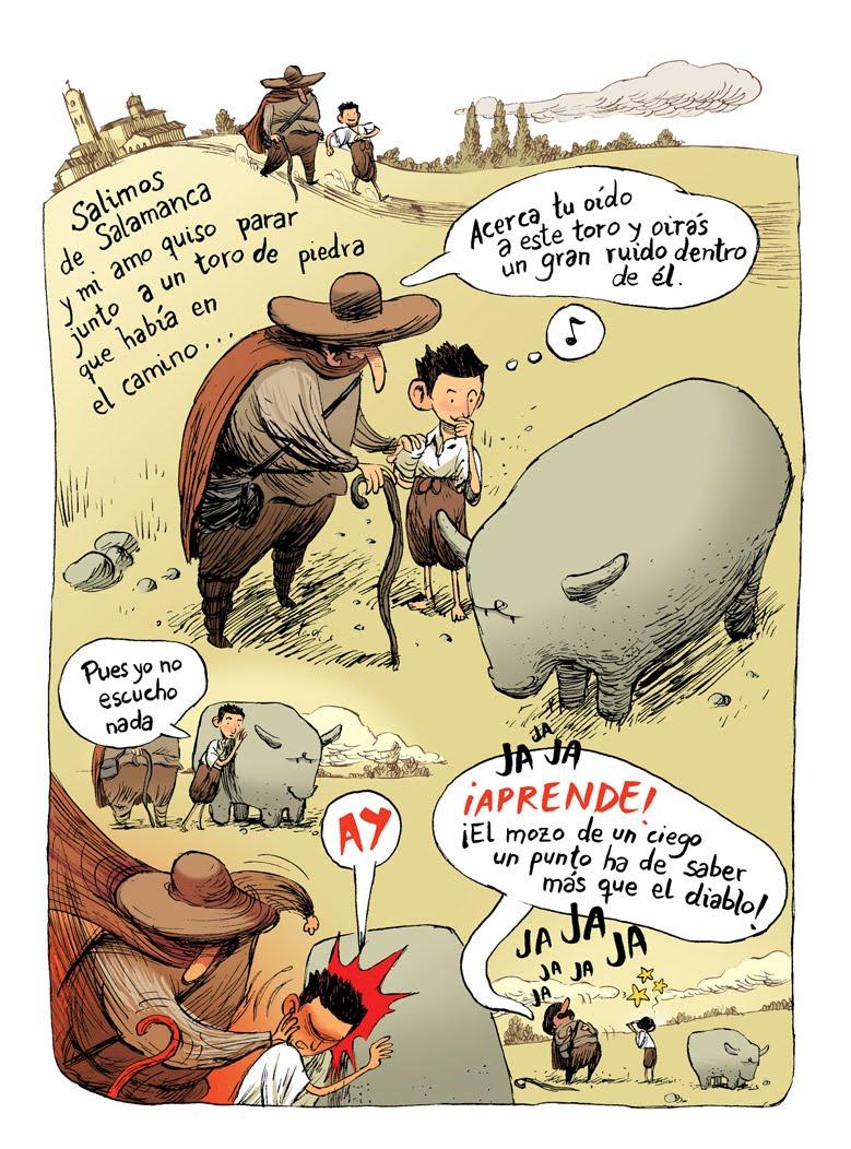 Diverletras El Lazarillo De Tormes La Figura Del Verraco