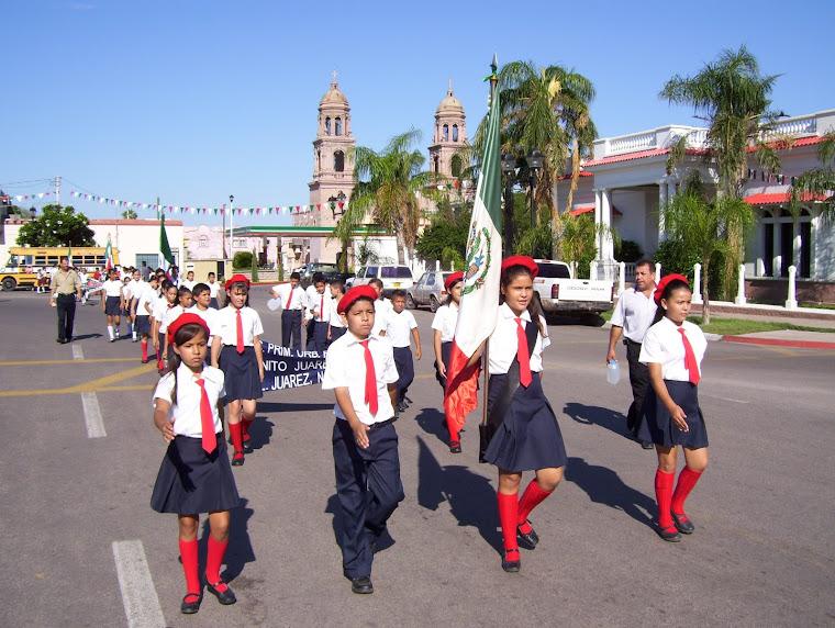 Desfile día 1° de Septiembre