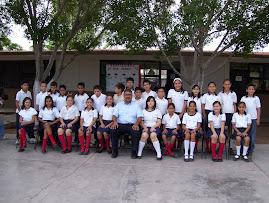 Alumnos del Quinto grado A 2007-2008