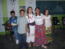 Los alumnos de 5° A celebraron las fiestas patrias