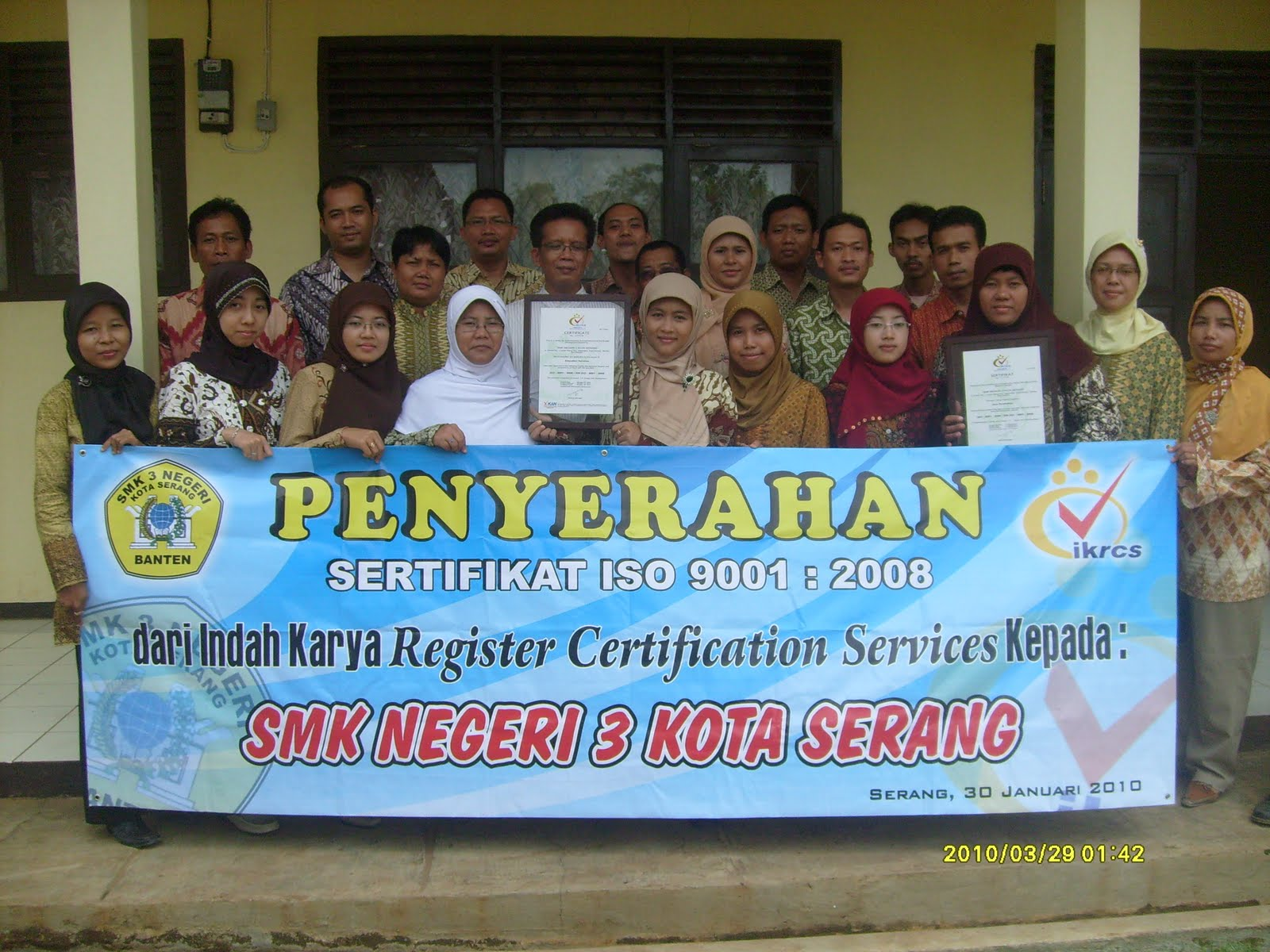Smk Negeri 3 Kota Serang 2010