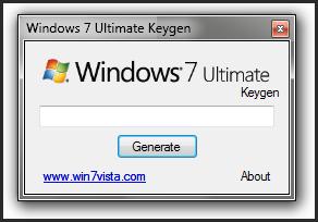 Window7 Keys