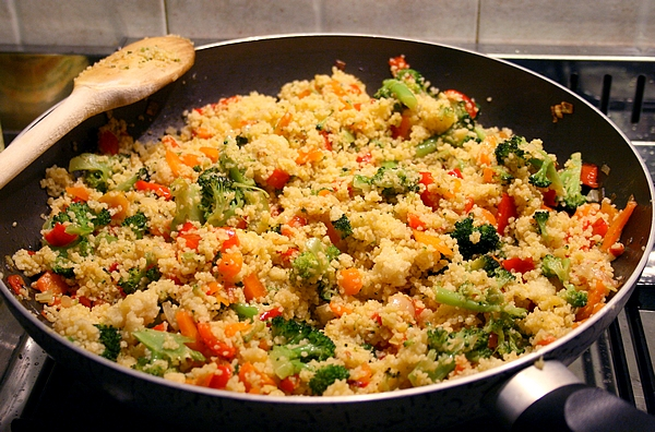 Receita couscous marroquino for Ideas de almuerzos caseros