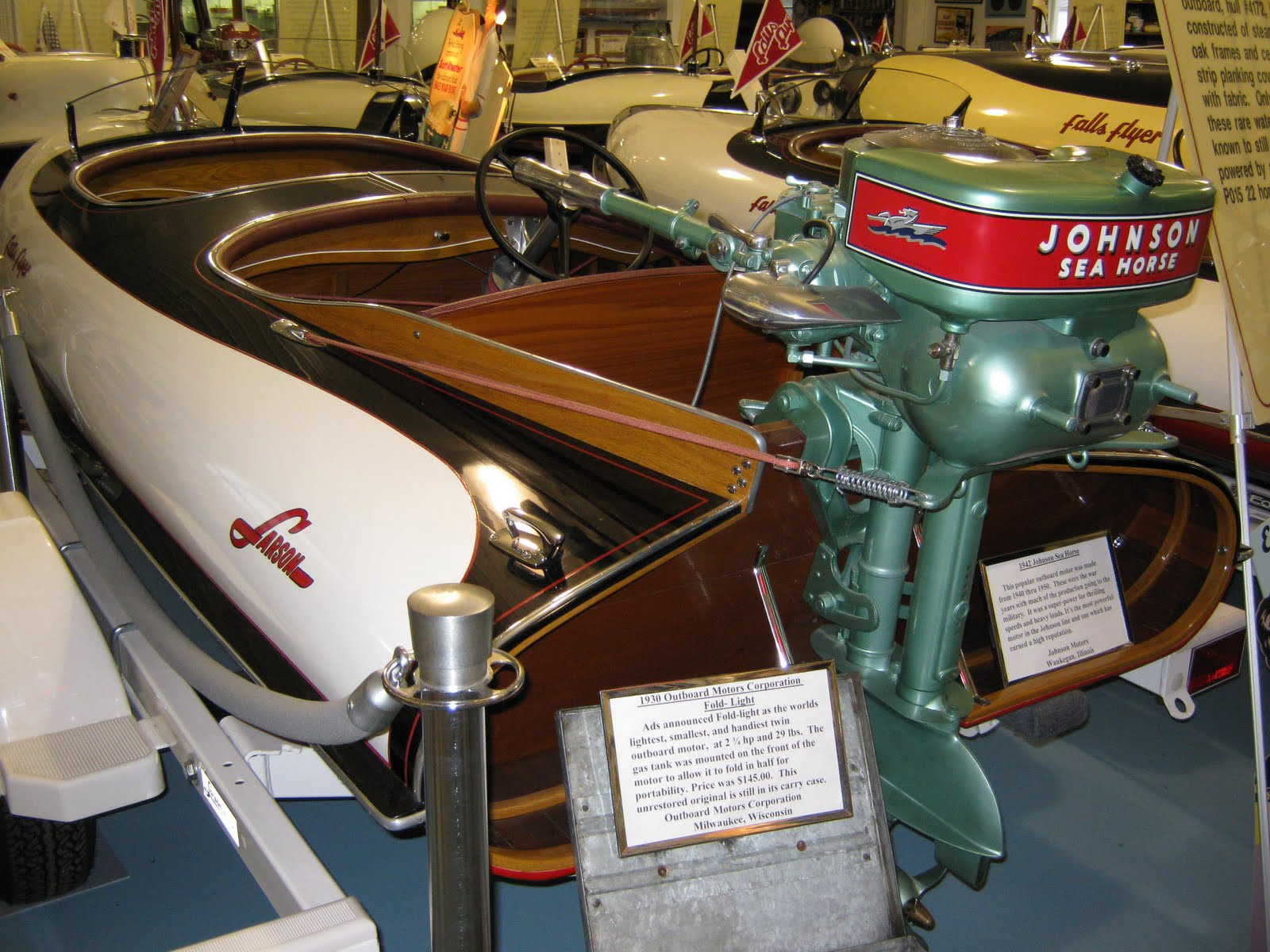 A Martin Model 200 20hp Twin Click Here To Read Brief History Of Outboard Motors Written By George Or Ask Paul Mikkelson When You Visit