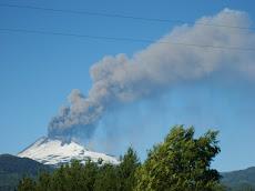 Erupcion del Volcan Llaima