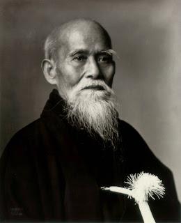 Morihei Ueshiba, fondateur de l'Aïkido