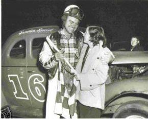 NASCAR driver Fonty Flock