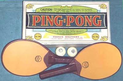 Primeros sets de ping pong