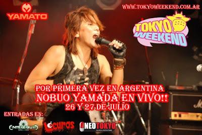 TOKYOWEEKEND PRESENTA A NOBUO YAMADA EN ARGENTINA Afiche_Nobuo01+copy