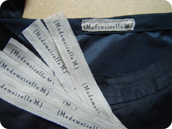 Petit communiqué : étiquettes perso