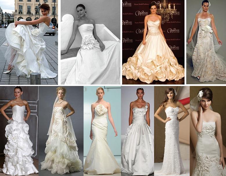 Beautiful Wedding Gowns: Decoration And Fashion World: The Most Beautiful Wedding