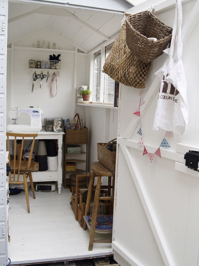 Craft Room Shed C R A F T