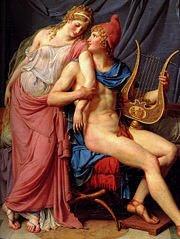 Helena de Tróia (Louis David, Louvre)