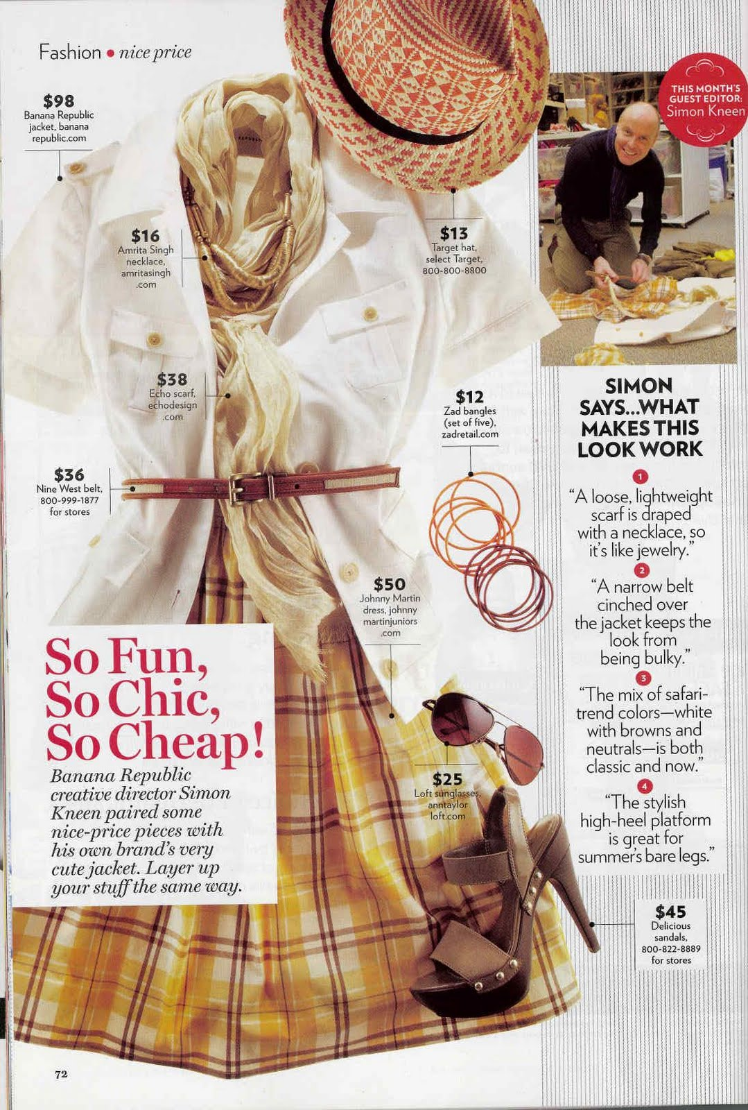 magazine critique example
