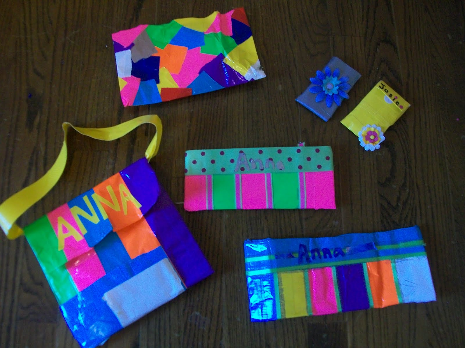 My Duct Tape Creations | I Rock Duct Tape |Duct Tape Creations