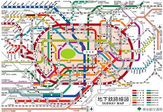 東京地鐵圖