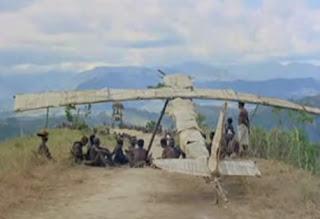 Bradley Voytek cargo cult airplane