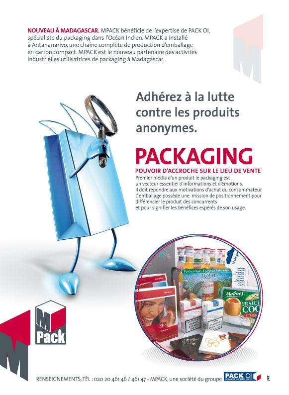 Publicité fabricant de PLV à Madagascar