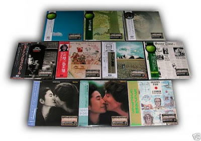 John Lennon re-released CD's from Japan