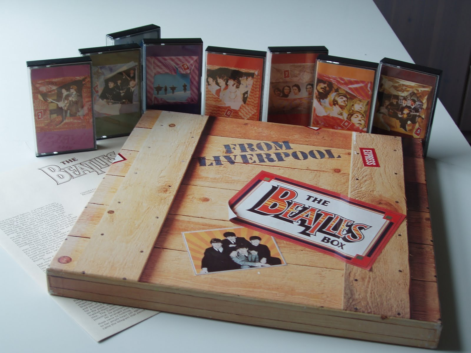 The Daily Beatle The Beatles Box Of 1981