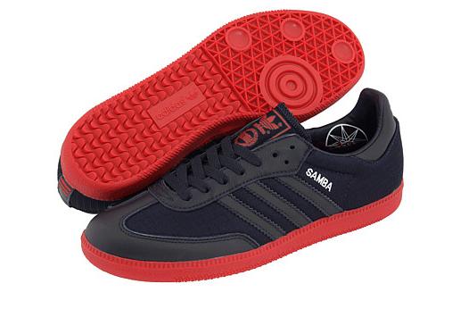 ... red adidas samba shoes ... 20f75ec17