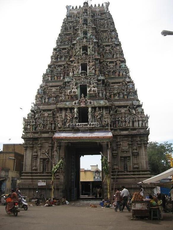 Indian Columbus: Karaneeswarar Temple - Saidapet, Chennai, India