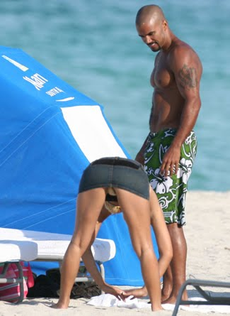 Shemar moore naked on beach your idea