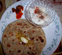 Stuffed Paratha by Manasi