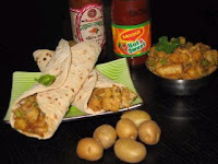 Aloo Kathi Roll by Spice Lover