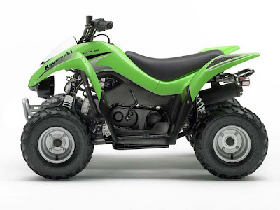 ATVs Four Wheelers  2007 Kawasaki KXF 50 90 ATVs Review First