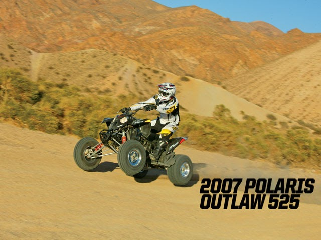 atvs four wheelers 2007 polaris outlaw 525 first ride. Black Bedroom Furniture Sets. Home Design Ideas
