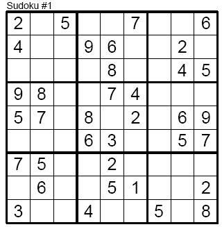 easy-sudoku-printable