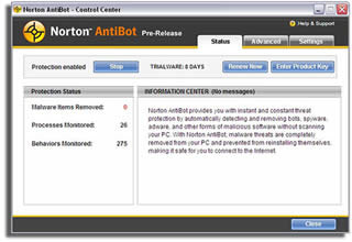 Norton AntiBot 1.0 + keygen