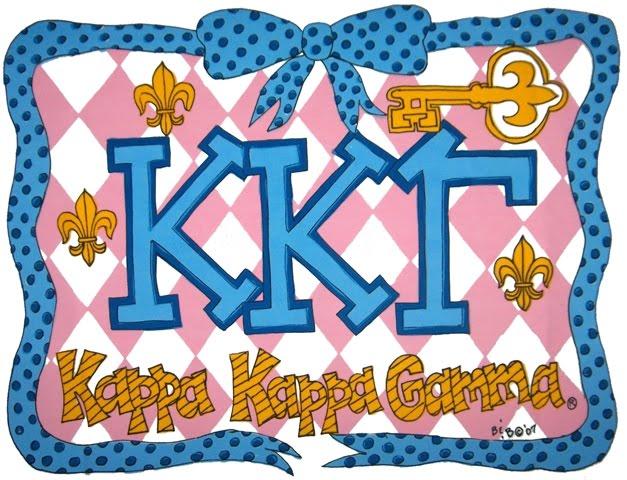 Decor 2 Ur Door Kappa Kappa Gamma Sorority Dorm Bedding