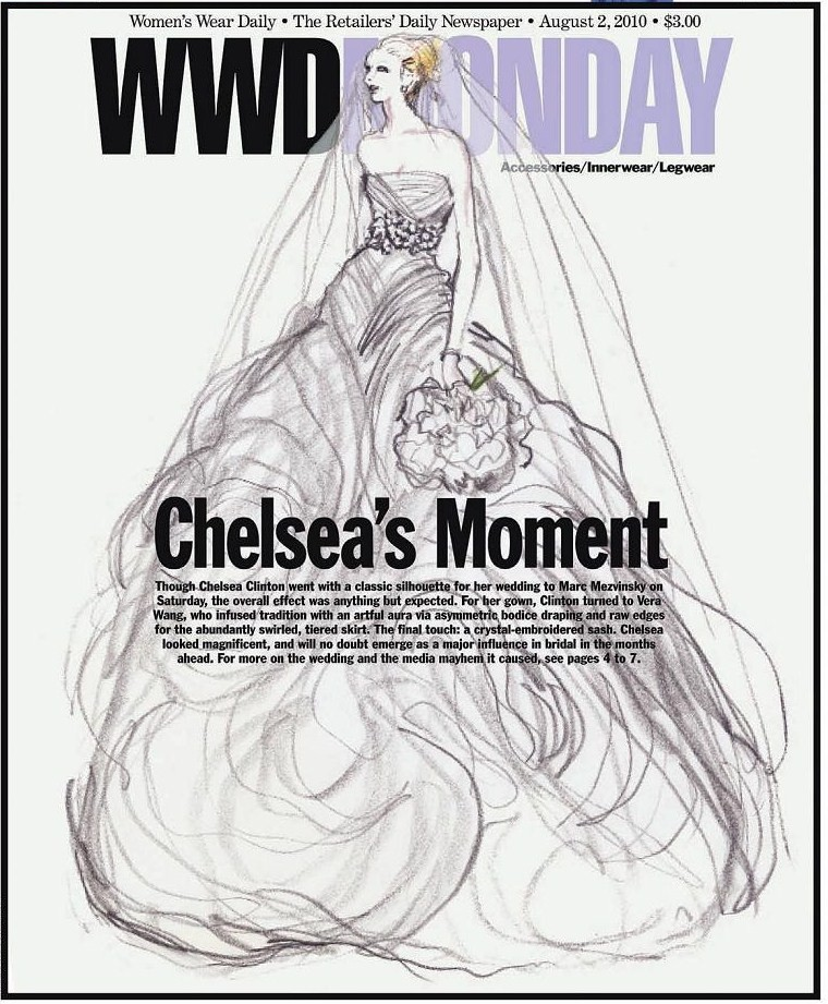 Chelsea Clinton Wedding Gown: Bichelle's Blog: Rumors Have Been Swirling Around Chelsea