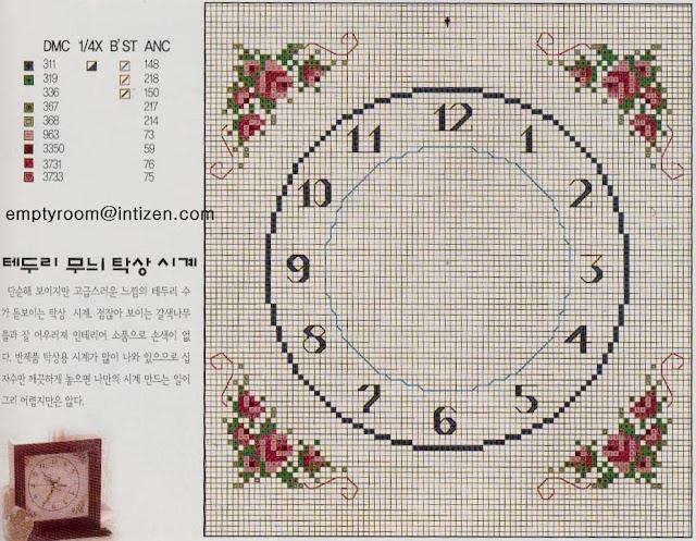 Emy S Gallery Wonderful Cross Stitch Clocks Pattern