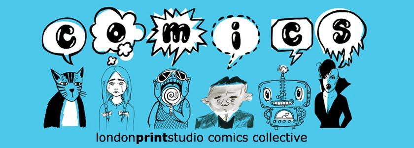London Print Studio Comics Collective logo