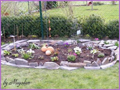 mayodans garden crafts mein neues staudenbeet. Black Bedroom Furniture Sets. Home Design Ideas