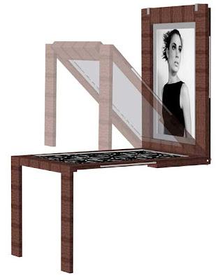 BILDTISH: Il tavolo da appendere al muro | Home Inutility & Fashion ...