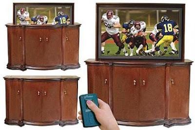Tv A Scomparsa Home Inutility Fashion Design