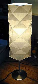 Lampada e piantana fai-da-te con tecnica origami  Home Inutility ...