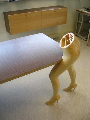erotic furniture8%5B1%5D Mobili Sexy ispirati alle curve femminili by Mario Philippona