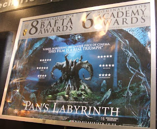 Poster for Pan's Labyrinth; photo by Val Phoenix