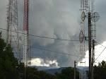 Nuvem carregada nas antenas