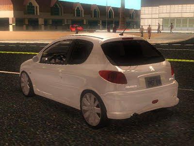 Seus Mods Online: Peugeot 206 GTI 4x4 - Gta San Andreas