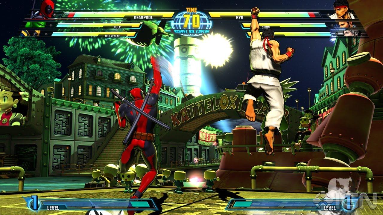 Marvel vs Capcom 3 -- The Water Cooler: Music, Video Games