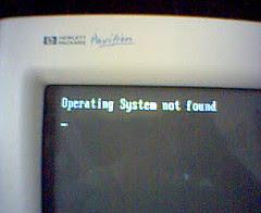 pantalla de error crítico