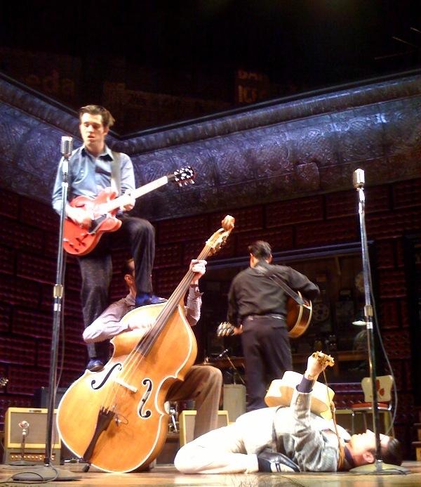 'Million Dollar Quartet' Previews Songs At Invited Jam