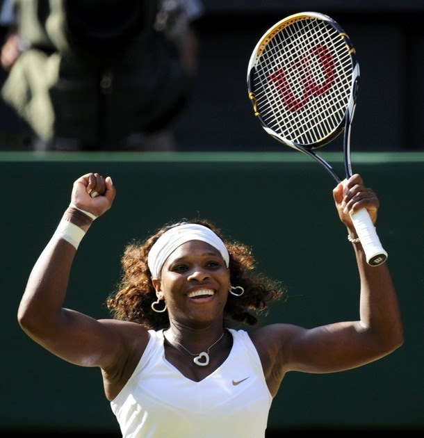 Picture Of Serena Williams Engagement Ring: Great Tennis Photos: Wimbledon 2009: Serena Williams' 30